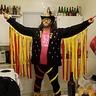 Photo #1 - Dane strikes a pose as Macho Man Randy Savage.