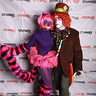 Photo #5 - Mad Hatter and Cheshire Cat