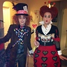 Photo #2 - Mad Hatter and Queen of Hearts