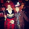 Photo #1 - Mad Hatter and the Queen of Hearts