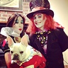 Photo #1 - Queen of hearts, the Mad hatter,and the white rabbit.