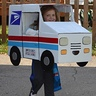 Photo #3 - Mail Carrier and Postage Stamp