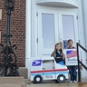 Photo #5 - Mail Carrier and Postage Stamp