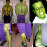 Photo #4 - The Incredible Hulk Make Up Detail