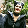 Photo #3 - Maleficent 2014 movie christening gown scene costume
