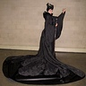Photo #2 - Maleficent 2014 movie christening gown scene costume