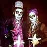 Photo #1 -  Voodoo couple: Maman Brigitte and Baron Samedi