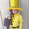 Photo #1 - Curious George and the Man with the Yellow Hat