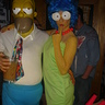 Photo #0 - Marge and Homer Simpsons