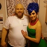 Photo #2 - Marge and Homer Simpson