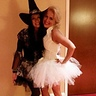 Photo #2 - me and my dear friend at the Halloween party