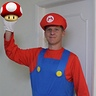 Photo #1 - My hubby as Mario