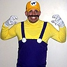 Photo #9 - Mike as Wario