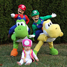 Photo #2 - Mario, Luigi, and Toadette