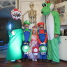 Photo #1 - parana plant, luigi, princess peach, mario, and yoshi!!
