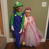 Photo #2 - luigi and princess peach