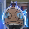 Photo #1 - Front view of Blue Shell costume