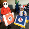 Photo #1 - Toad and Shyguy complete costumes