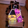 Photo #10 - Delorean with the hoverboard and plutoneum box