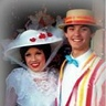 "Photo #2 - Mary Poppins and Burt having a ""Jolly Holiday"" :)"