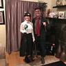 Photo #1 - Mary Poppins and Bert before the festivities!