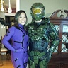 Photo #1 - Master Chief and Cortana from Halo