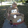 Photo #1 - all smiles as Mater the tow truck