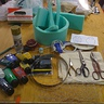 Photo #2 - Materials used (not pictured: Sewing machine and iron)