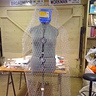 Photo #3 - Chicken wire form over dress form