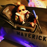 Photo #3 - Maverick in his jet getting ready for takeoff
