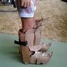 Photo #7 - cardboard boots