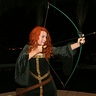 Photo #1 - Merida from Brave
