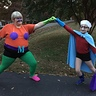 Photo #2 - Mermaid Man and Barnacle Boy UNITE!