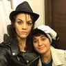 Photo #1 - Michael Jackson & his little friend