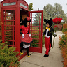 Photo #5 - Minnie finishing a telephone call with Donald Duck