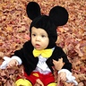 Photo #1 - Mickey Mouse loves to play in the leaves