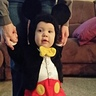 Photo #2 - Mickey learning to walk!!!