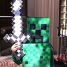 Photo #1 - Lucas as the Creeper