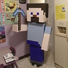 Photo #1 - Colton as Minecraft Steve w/ Diamond Pickaxe