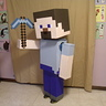 Photo #2 - Colton as Minecraft Steve
