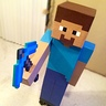 Photo #1 - Minecraft Steve with Pickaxe.