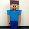 Photo #2 - Minecraft Steve front view...