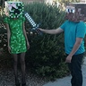 Photo #1 - Minecraft Steve and Creeper