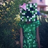 Photo #2 - Minecraft Steve and Creeper