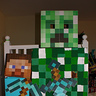 Photo #2 - Minecraft Steve & Creeper