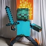 Photo #3 - Minecraft Zombie on Fire