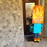 Photo #5 - Minecraft Zombie on Fire