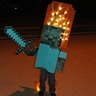 Photo #1 - Minecraft Zombie on Fire