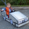 Photo #1 - The hardest part about his costume is PUSHING him to 88 MPH! ;)