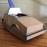 Photo #10 - Cardboard cut and shaped before paint job and detailing